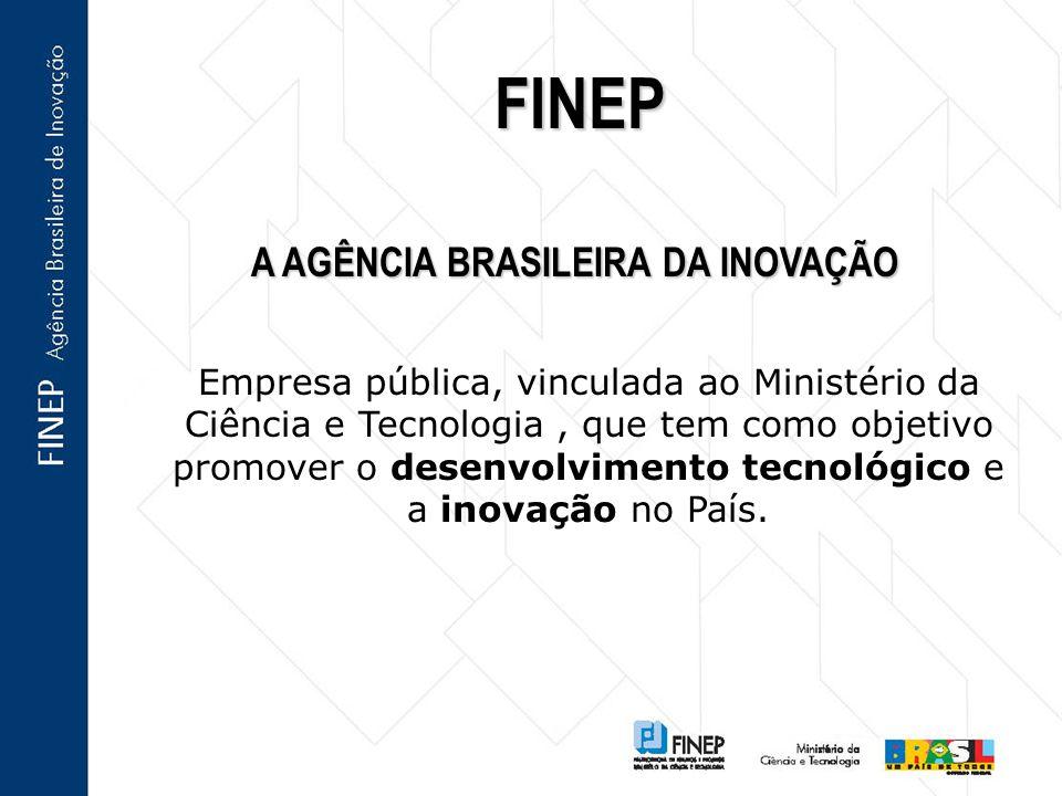 A AGÊNCIA BRASILEIRA DA INOVAÇÃO