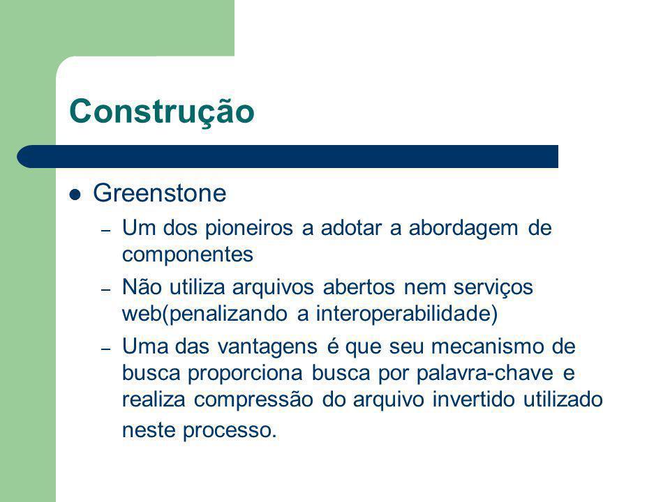 Construção Greenstone