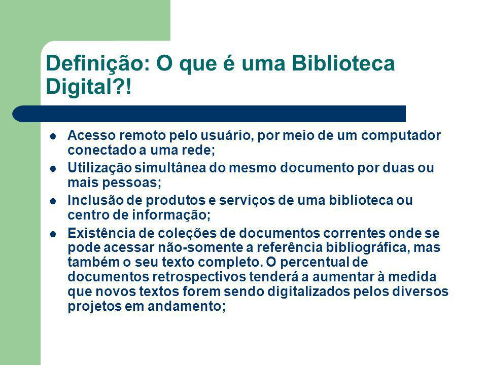 Definição: O que é uma Biblioteca Digital !
