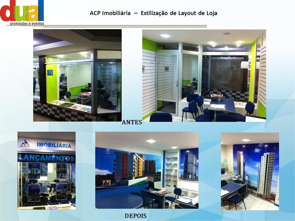 ACP Imobiliária – Estilização de Layout de Loja