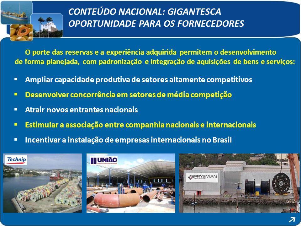 CONTEÚDO NACIONAL: GIGANTESCA OPORTUNIDADE PARA OS FORNECEDORES