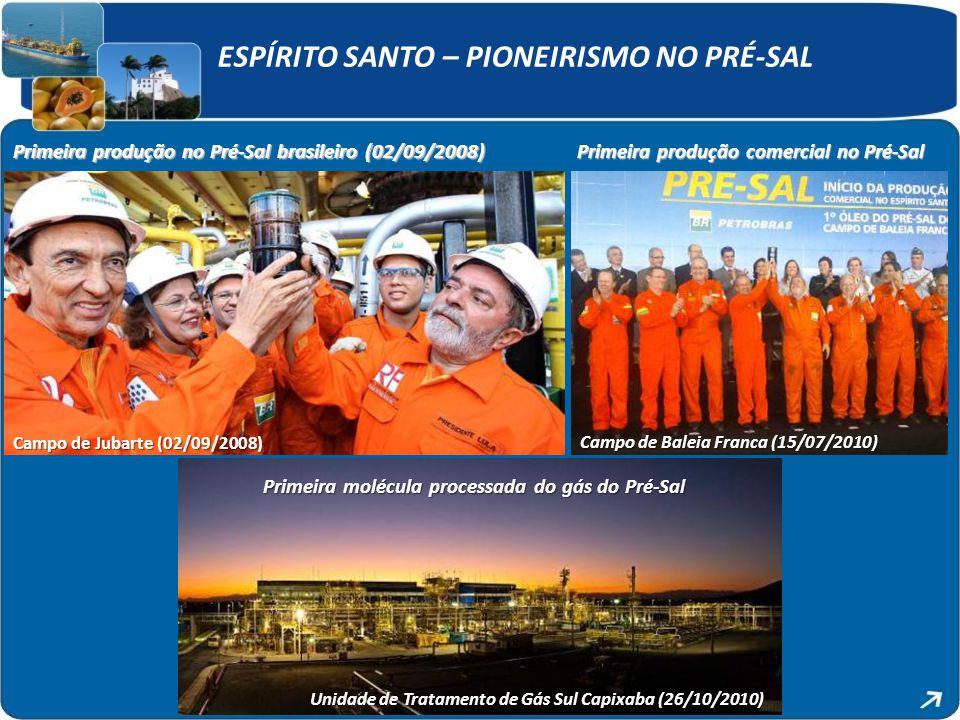 Unidade de Tratamento de Gás Sul Capixaba (26/10/2010)