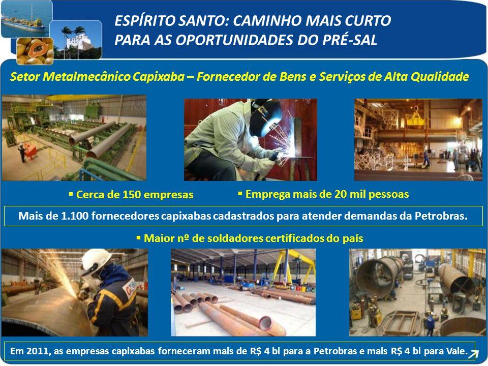 ESPÍRITO SANTO: CAMINHO MAIS CURTO PARA AS OPORTUNIDADES DO PRÉ-SAL