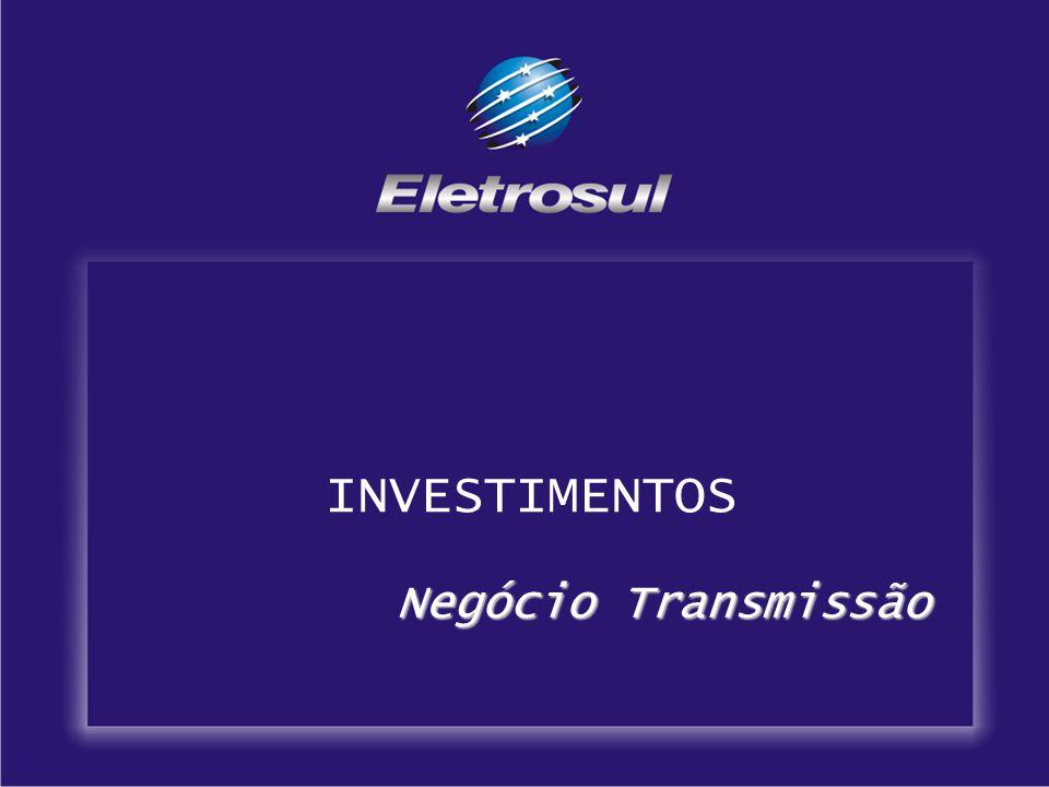 INVESTIMENTOS Negócio Transmissão