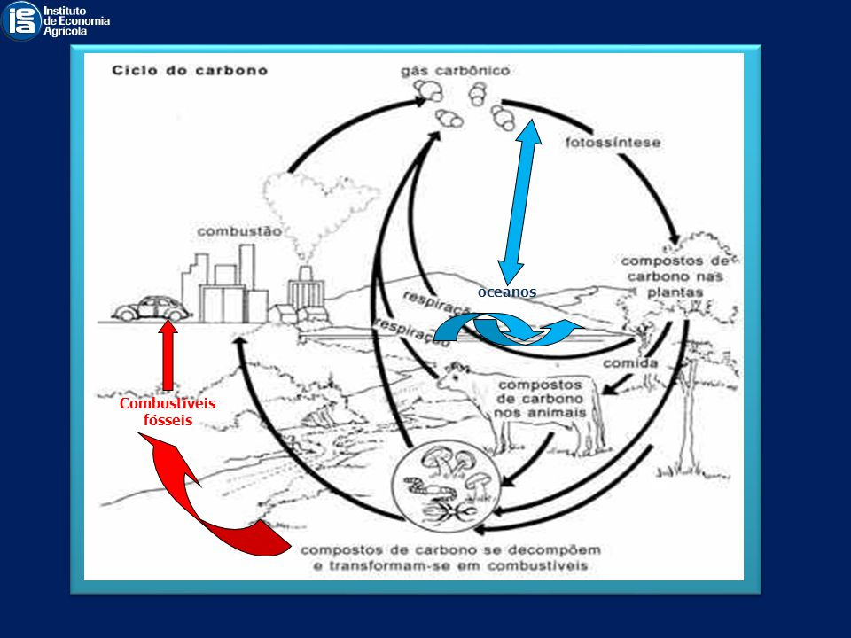 oceanos Combustíveis fósseis