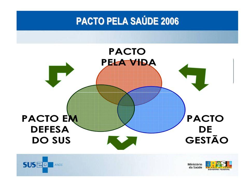 A implementação do Pacto pela Saúde se dá por meio da adesão de municípios, estados e União ao Termo de Compromisso de Gestão (TCG), que é renovado anualmente e substitui os processos de habilitação (nas várias formas de gestão anteriormente vigentes), estabelecendo metas e compromissos para cada ente da federação.