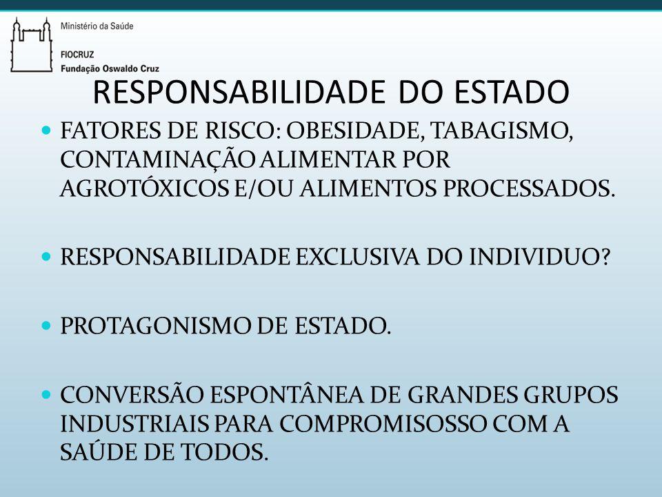 RESPONSABILIDADE DO ESTADO