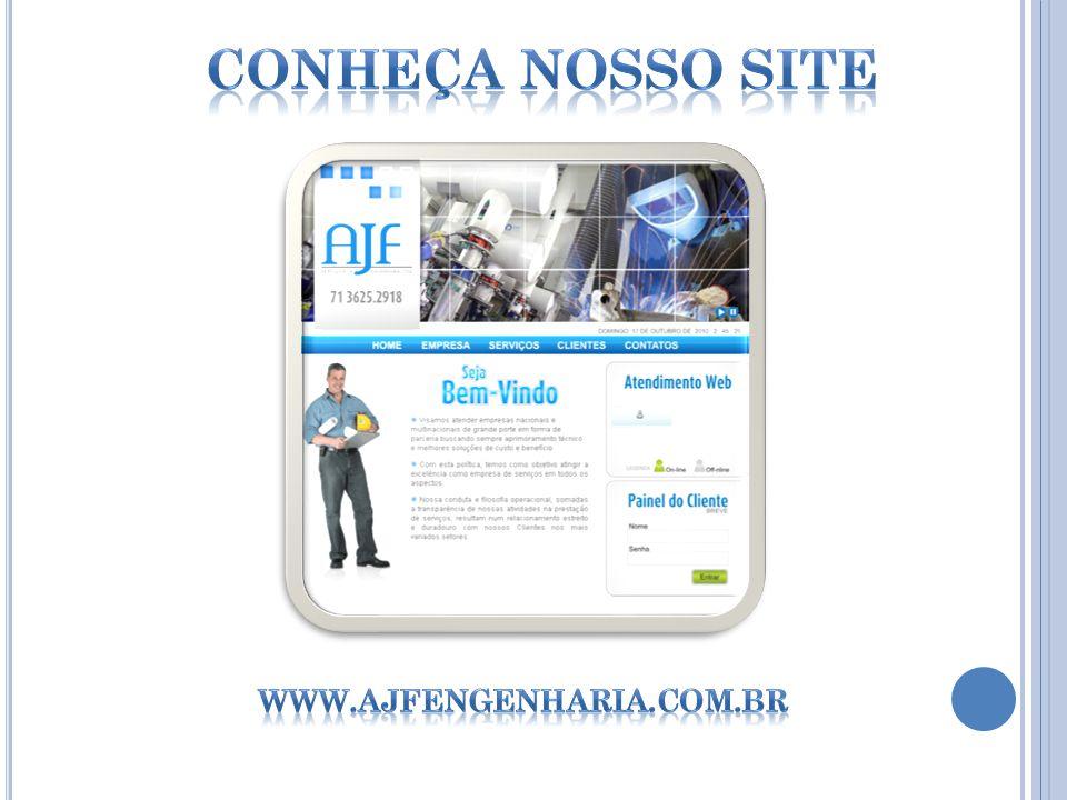 Conheça nosso site www.ajfengenharia.com.br