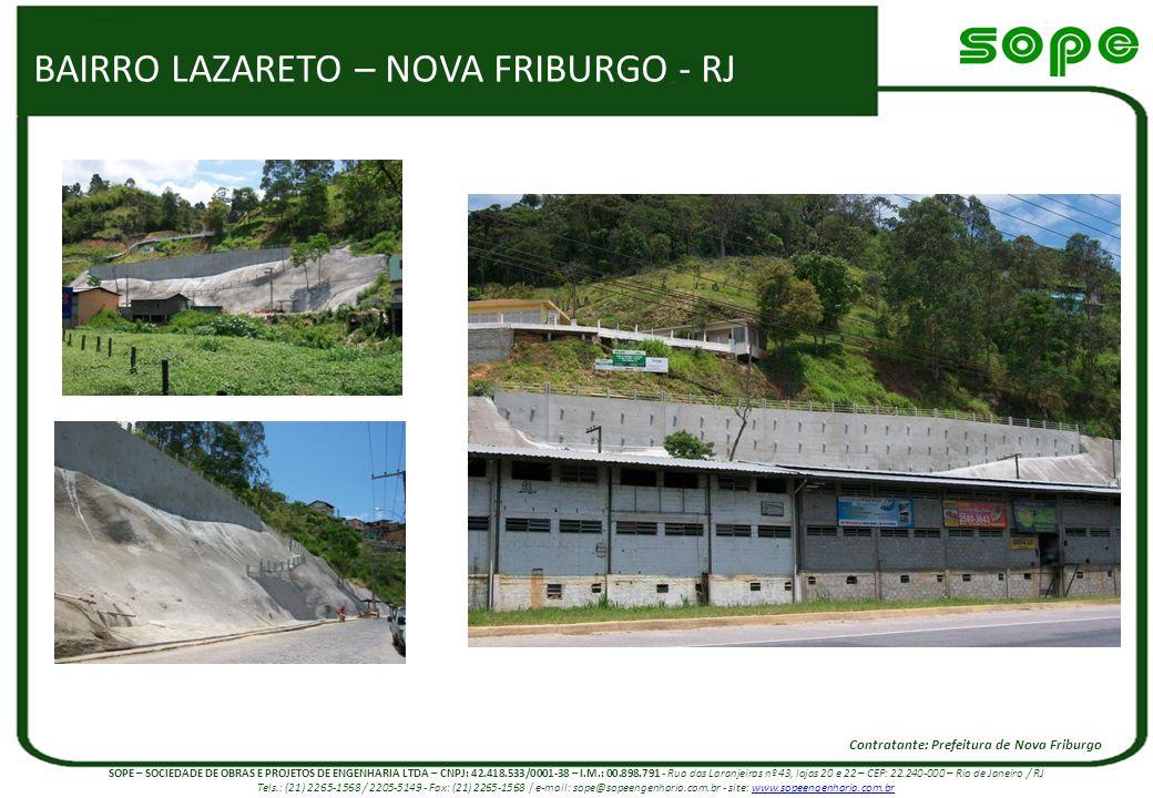 BAIRRO LAZARETO – NOVA FRIBURGO - RJ