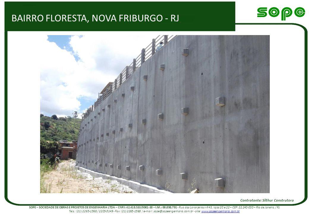 BAIRRO FLORESTA, NOVA FRIBURGO - RJ