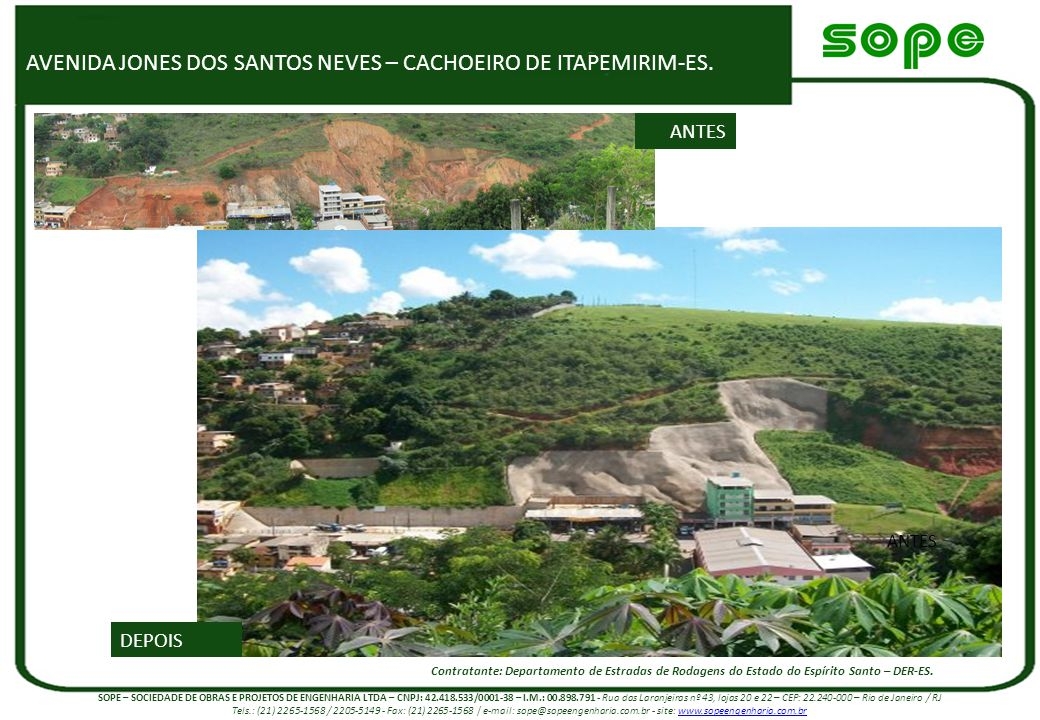 AVENIDA JONES DOS SANTOS NEVES – CACHOEIRO DE ITAPEMIRIM-ES.