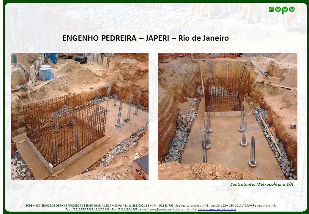 ENGENHO PEDREIRA – JAPERI – Rio de Janeiro