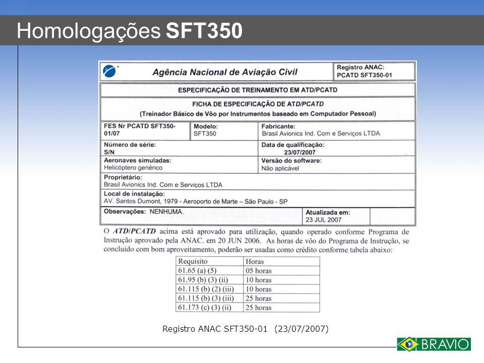 Registro ANAC SFT350-01 (23/07/2007)