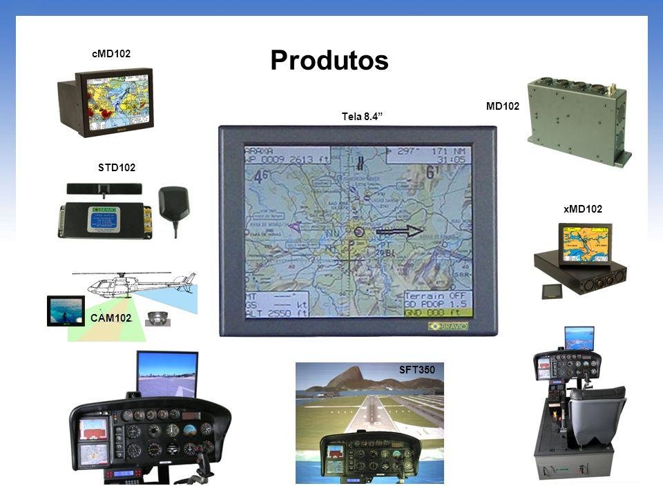 cMD102 Produtos MD102 Tela 8.4 STD102 xMD102 CAM102 SFT350