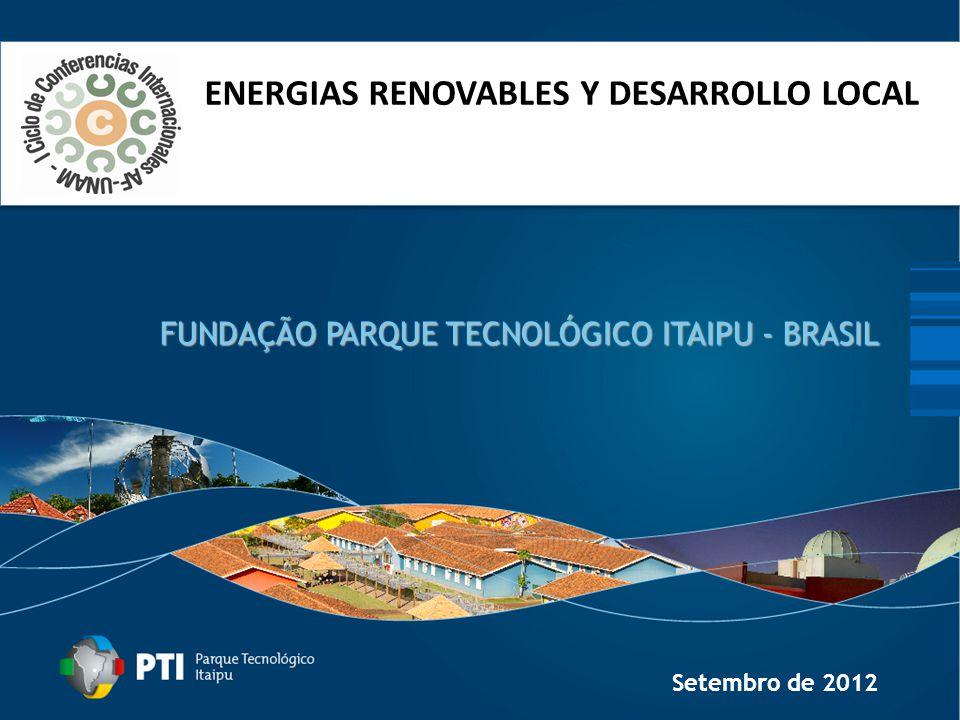 FUNDAÇÃO PARQUE TECNOLÓGICO ITAIPU - BRASIL