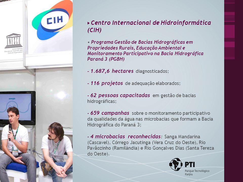 Centro Internacional de Hidroinformática (CIH) Polo Astronômico