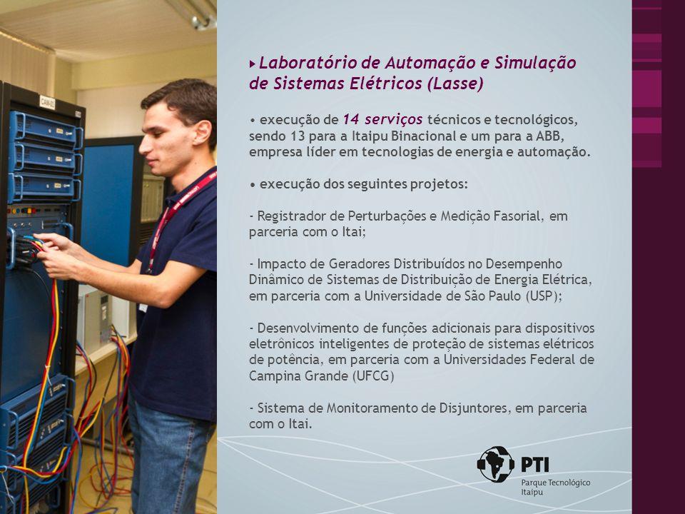 Laboratório de Automação e Simulação de Sistemas Elétricos (Lasse)