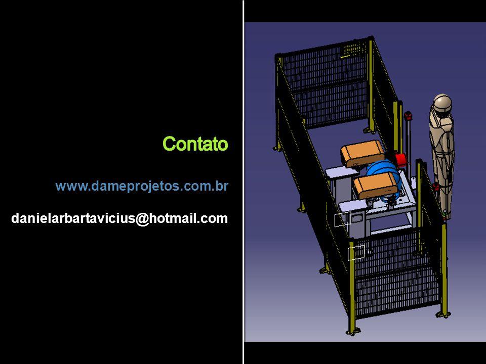 Contato www.dameprojetos.com.br danielarbartavicius@hotmail.com