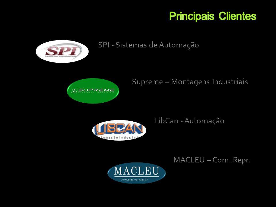 Principais Clientes SPI - Sistemas de Automação