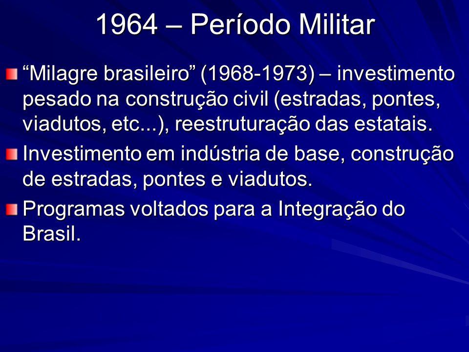 1964 – Período Militar