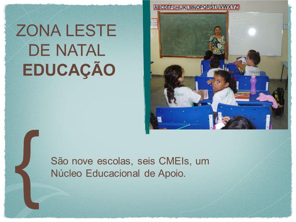 ZONA LESTE DE NATAL EDUCAÇÃO