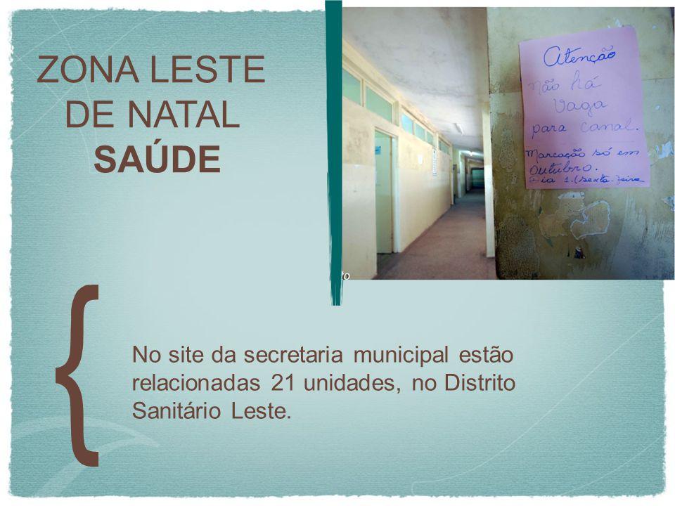 ZONA LESTE DE NATAL SAÚDE