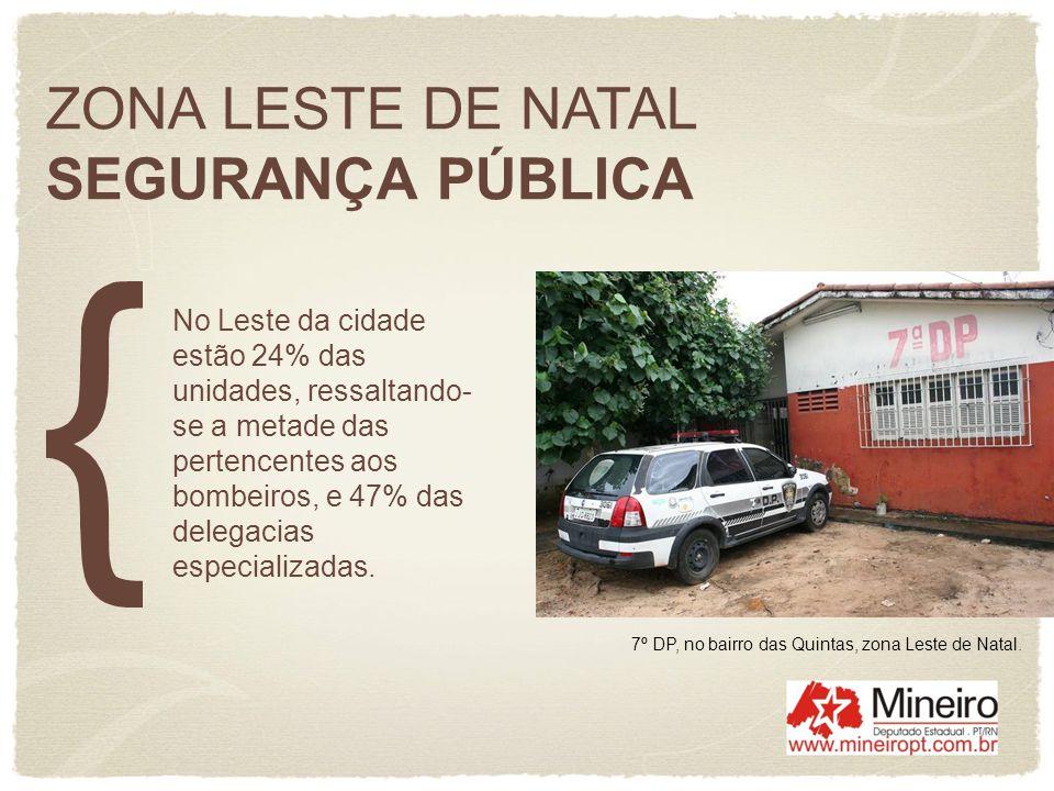 ZONA LESTE DE NATAL SEGURANÇA PÚBLICA