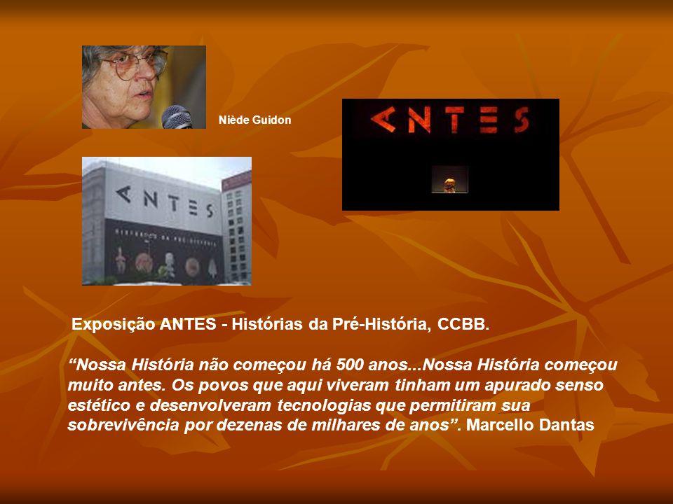 Niède Guidon Exposição ANTES - Histórias da Pré-História, CCBB.