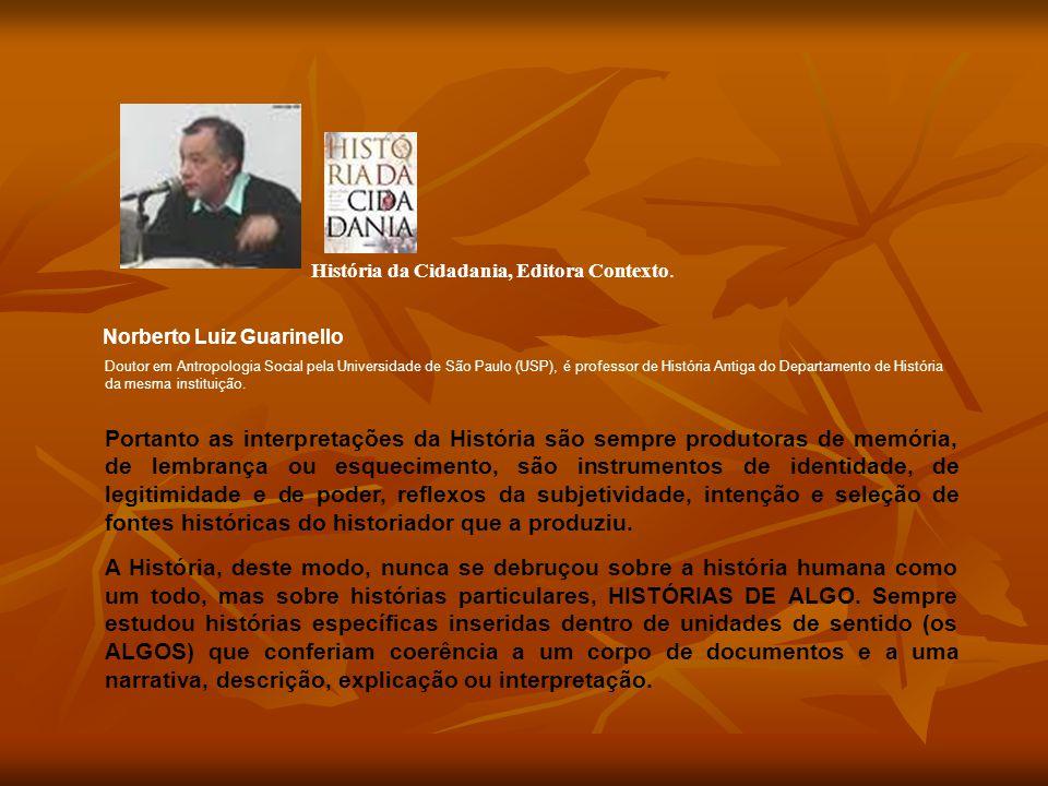 História da Cidadania, Editora Contexto.