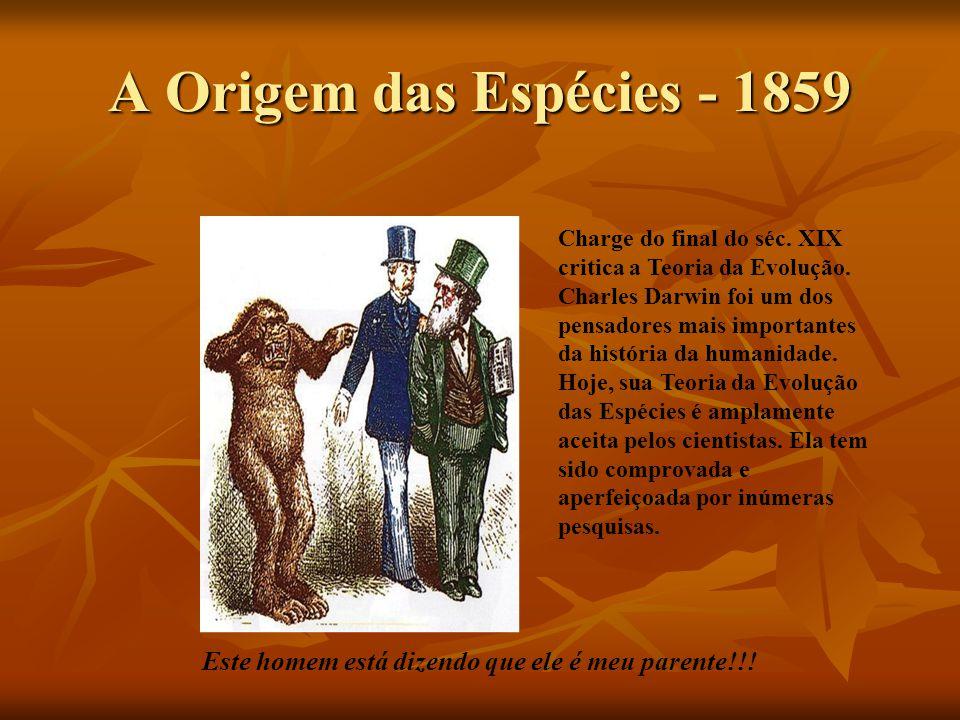 A Origem das Espécies - 1859