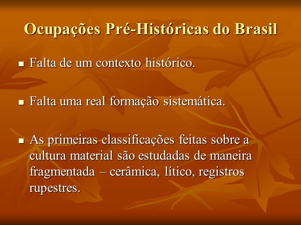 Ocupações Pré-Históricas do Brasil