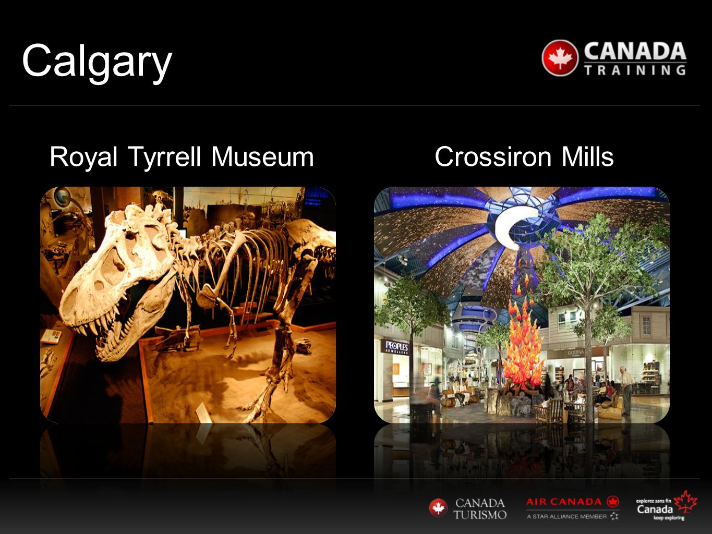 Calgary Royal Tyrrell Museum Crossiron Mills