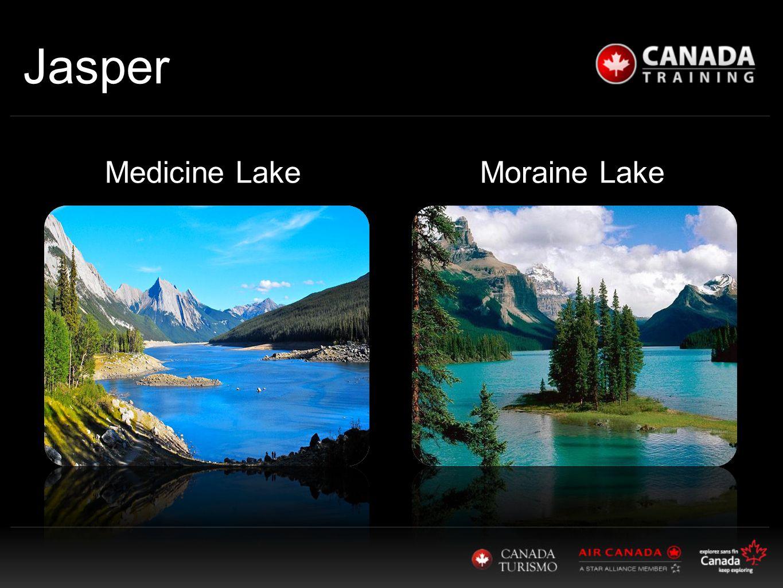 Jasper Medicine Lake Moraine Lake