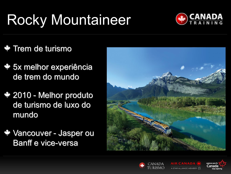 Rocky Mountaineer Trem de turismo