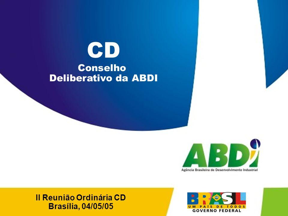 II Reunião Ordinária CD