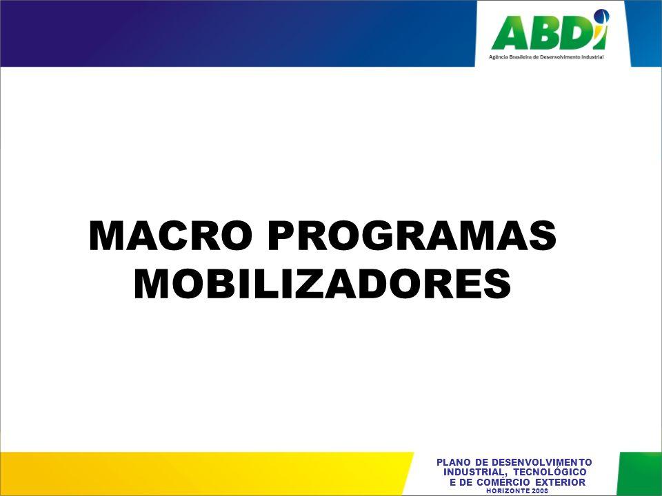 MACRO PROGRAMAS MOBILIZADORES