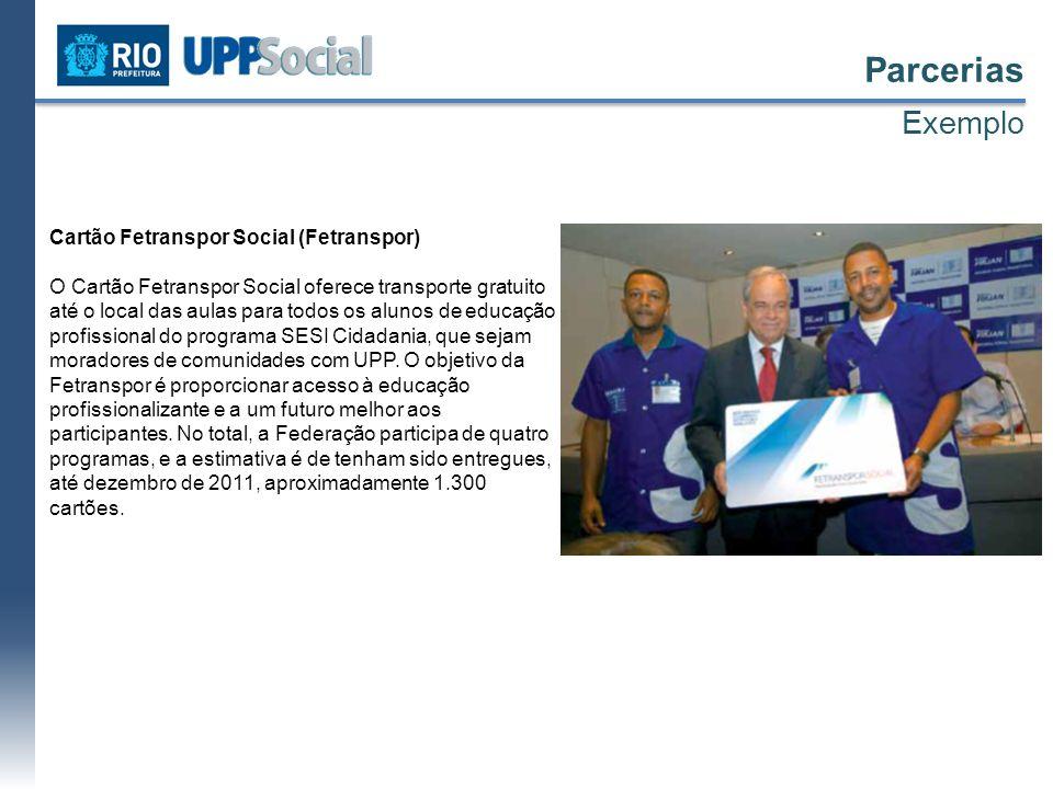 Parcerias Exemplo Cartão Fetranspor Social (Fetranspor)