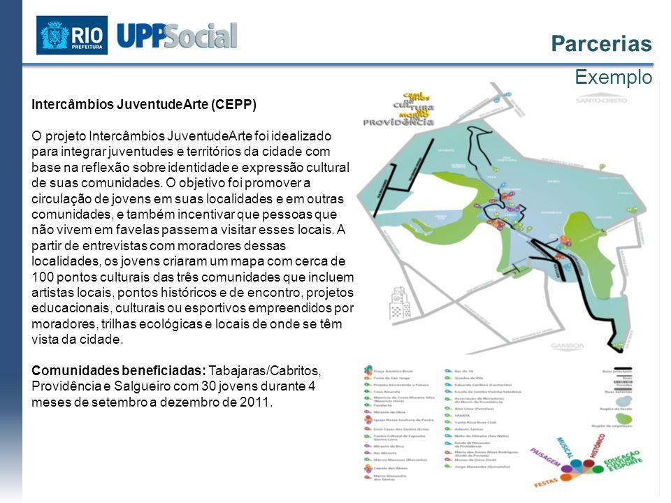 Parcerias Exemplo Intercâmbios JuventudeArte (CEPP)