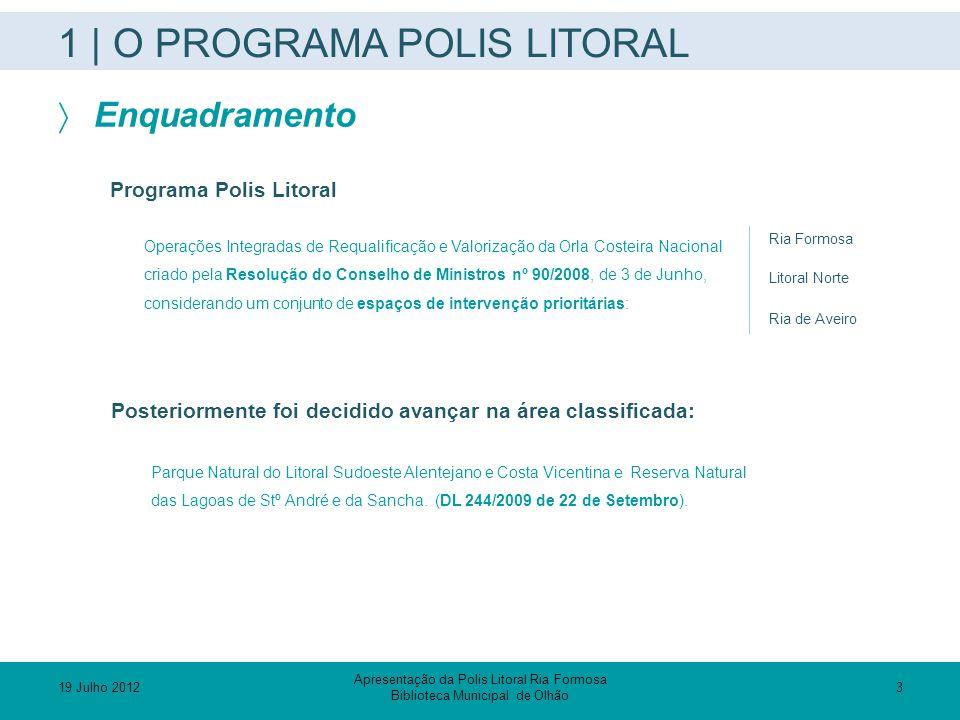 1 | O PROGRAMA POLIS LITORAL