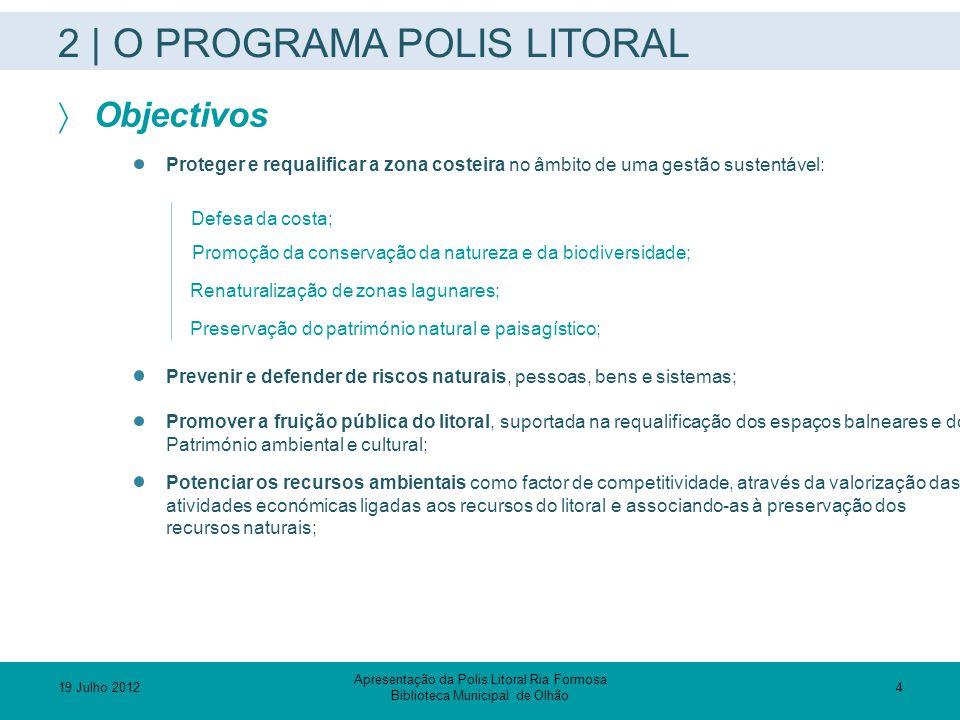 2 | O PROGRAMA POLIS LITORAL