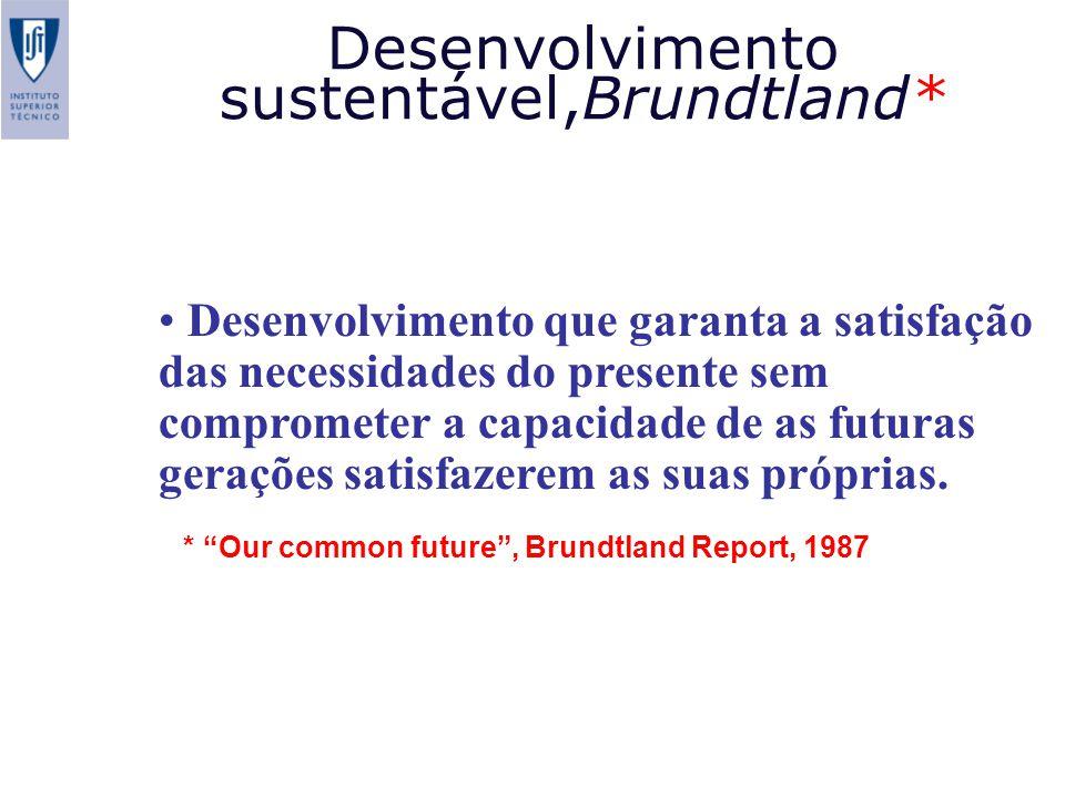 Desenvolvimento sustentável,Brundtland*