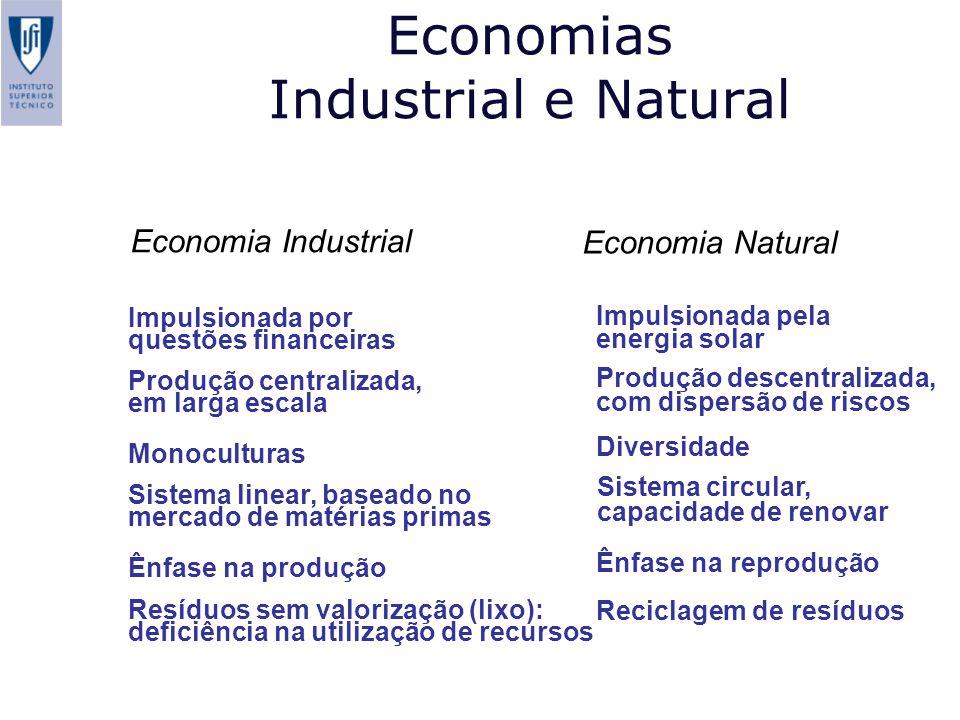 Economias Industrial e Natural