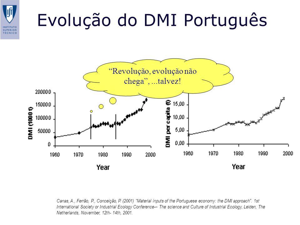Evolução do DMI Português