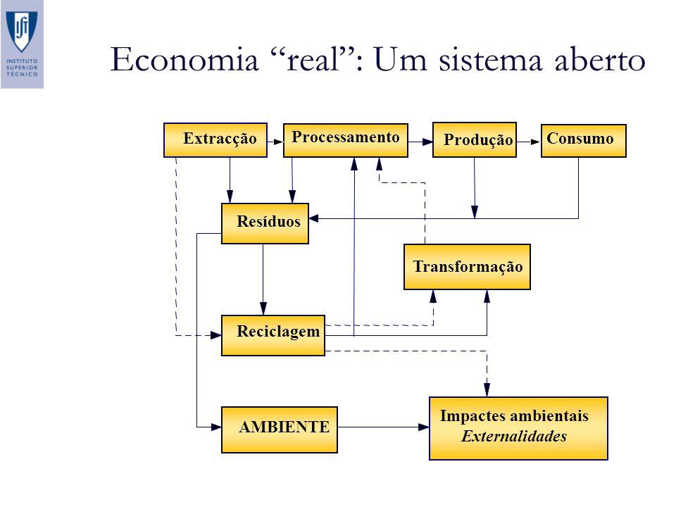 Economia real : Um sistema aberto