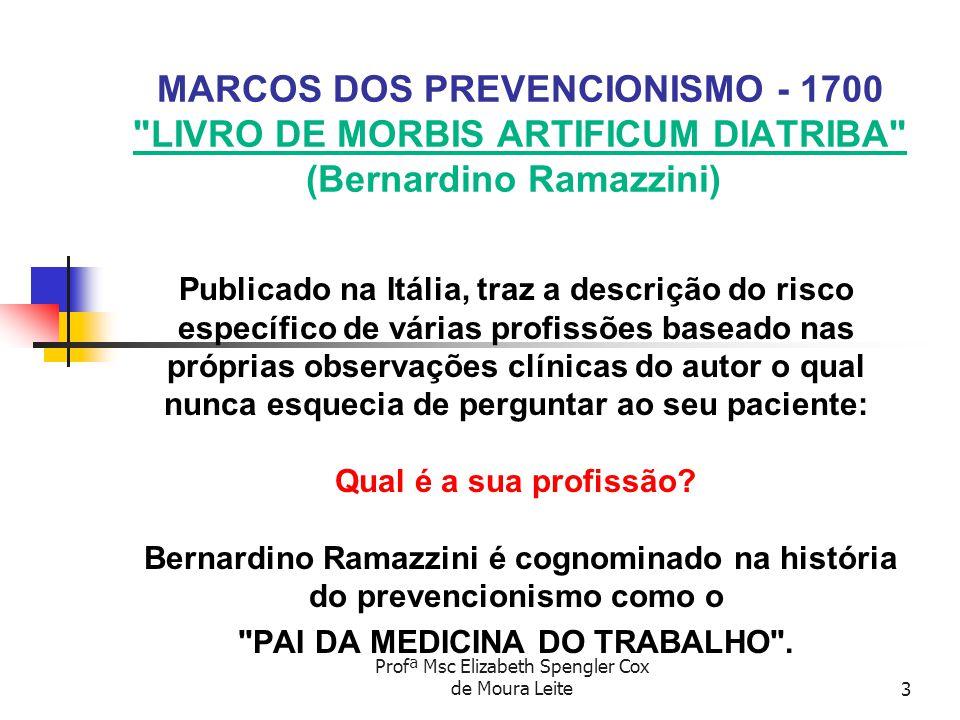 PAI DA MEDICINA DO TRABALHO .