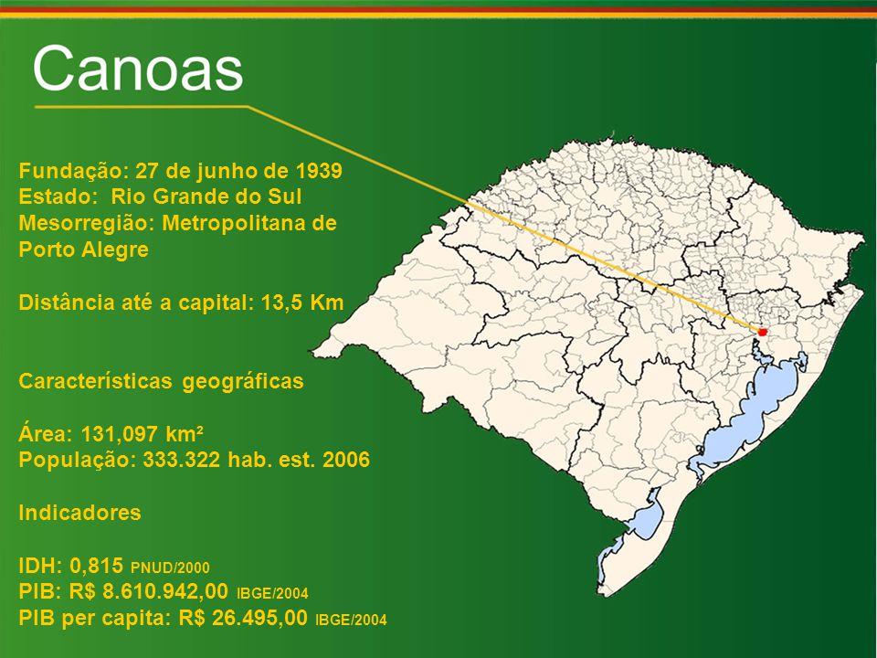 Fundação: 27 de junho de 1939 Estado: Rio Grande do Sul. Mesorregião: Metropolitana de. Porto Alegre.