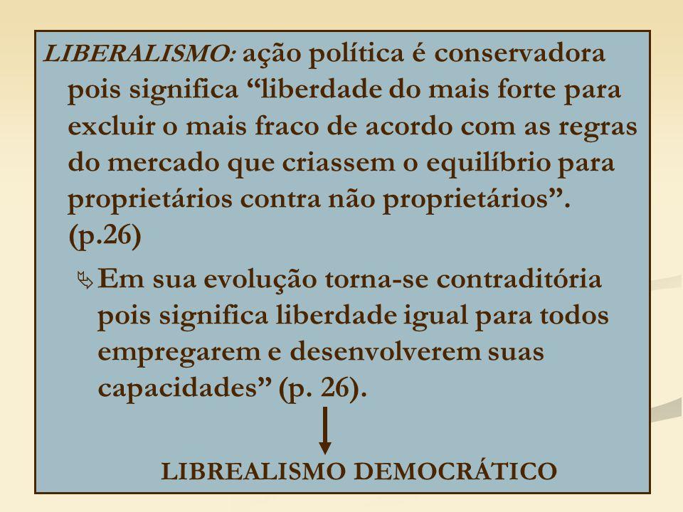 LIBREALISMO DEMOCRÁTICO