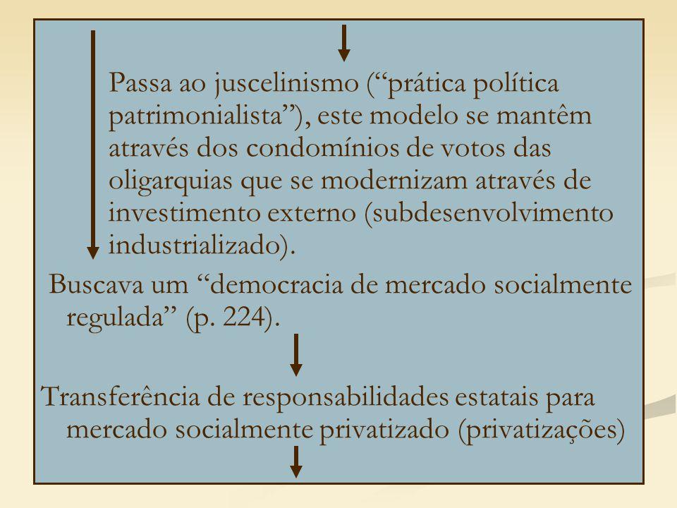 Passa ao juscelinismo ( prática política