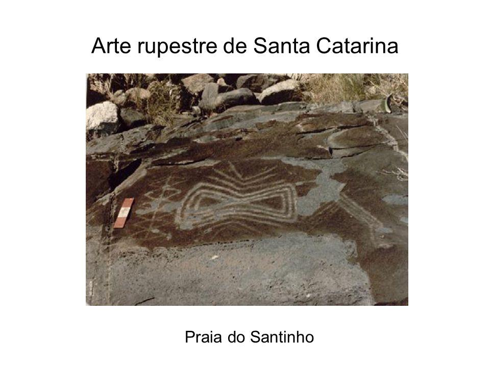 Arte rupestre de Santa Catarina