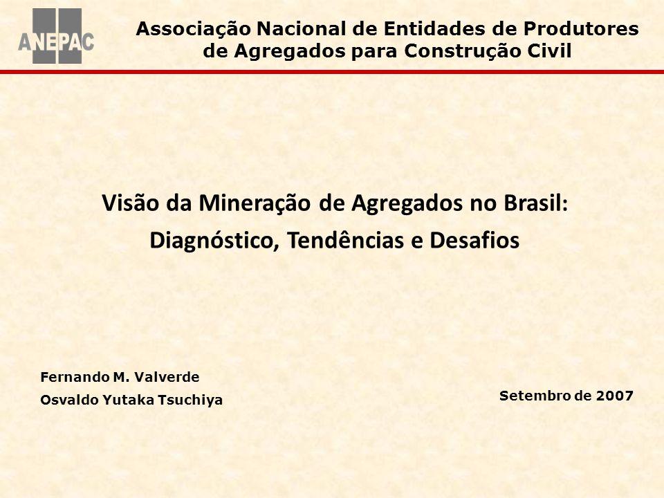 Visão da Mineração de Agregados no Brasil: